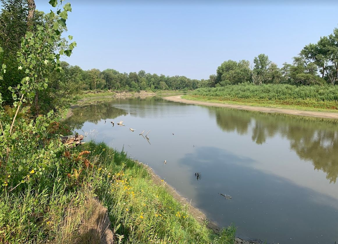 walk in Beaudry Provincial Park in Manitoba